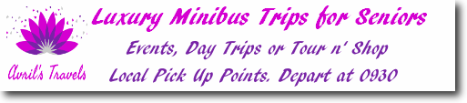 Avrils Travels - Luxury minivan trips for Seniors in the Inverness Area
