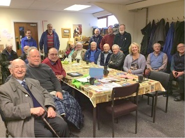 Inverness Men's Shed members